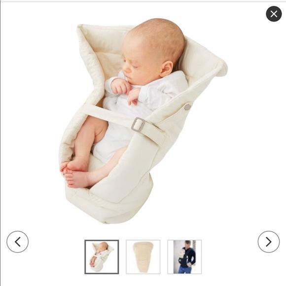 dd9f1a2c90e Ergobaby easy snug infant insert original natural